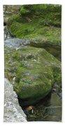 Zen Creek Rocky Scenery Bath Towel