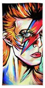 Ziggy Stardust Bath Towel
