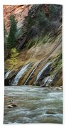 Zion Canyon Bath Towel