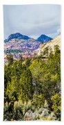 Zion Canyon National Park Utah Bath Towel