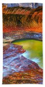 Zion Subway Bath Towel by Greg Norrell