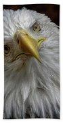 Zombie Eagle Look Bath Towel
