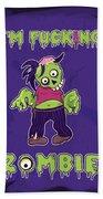 Zombie Bath Towel