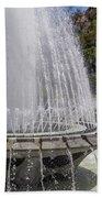 Arthur J. Will Memorial Fountain At Grand Park Bath Towel