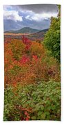 Autumn Beginnings In New Hampshire Bath Towel by Dan Sproul