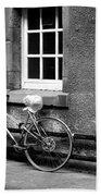 bicycle in Edinburgh close Bath Towel