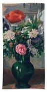 Bouquet Of Flowers, 1898 Bath Towel