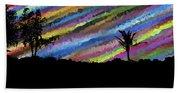 Colorful Forest Bath Towel