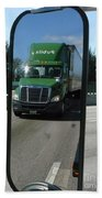 Green Freightliner Publix Bath Towel