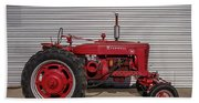 Farmall M And Steel Bath Towel