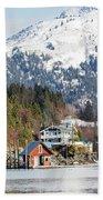 Halibut Cove Kenai Peninsula Alaska Bath Towel