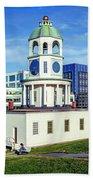 Halifax Town Clock 2017 Bath Towel