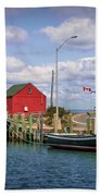 Hall's Harbour 01 Hand Towel