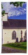 Holy Cross Cemetery And Our Lady Of Sorrows Chapel Bath Towel