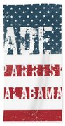 Made In Parrish, Alabama Bath Towel
