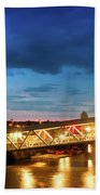 Mersey Ferry Floating Landing Stage Hand Towel