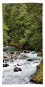 Ohanapecosh River Bath Towel