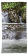 On The Trail To Cascade Falls Bath Towel by James Woody