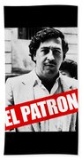 Pablo Escobar Bath Towel
