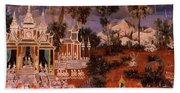 Ramayana Murals In A Palace, Royal Hand Towel
