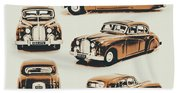 Retro Rides Bath Towel