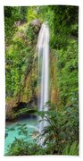 Secluded Bath Towel by Russell Pugh