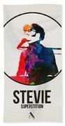 Stevie Wonder Bath Towel