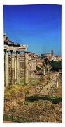 Temple Of Saturn Hand Towel