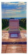 Tomb Of The Unknown Soldier Bath Towel