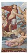 Triumph Of Galatea, Detail Bath Towel