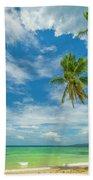 Tropical Beach, Siquijor Island Bath Towel