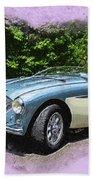 1956 Austin Healey 100-4 M  Bath Towel