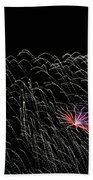 Saint Louis Riverfront 4th Of July 2018 Bath Towel