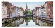Brugge - Belgium Bath Towel