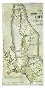 1848 California Gold Country Map Photograph by Jon Neidert on