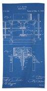 1885 Grist Mill Patent Bath Towel