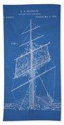 1885 Sails Patent Hand Towel