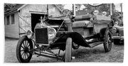 1915 Ford Model T Truck Bath Towel