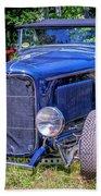 1932 Ford Highboy Hot Rod Roadster Bath Towel