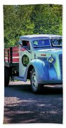 1938 Diamond T Stakebed Truck Bath Towel