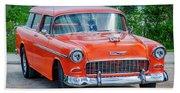 1955 Chevrolet Bel Air Nomad Hand Towel