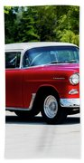 1955 Chevrolet Bel Air Bath Towel