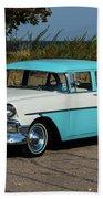 1956 Chevrolet 210  Bath Towel