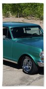 1963 Chevrolet Nova Ss Bath Towel