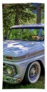 1966 Chevrolet C10 Pickup Truck Bath Towel