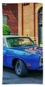 1970 Dodge Charger R/t Bath Towel