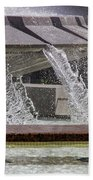 Arthur J. Will Memorial Fountain At Grand Park Bath Towel