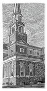 First Baptist Church Columbia Bath Towel