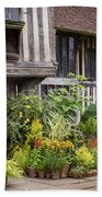 Great Dixter House And Gardens Hand Towel by Perry Rodriguez