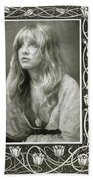 Stevie Nicks Fleetwood Mac Bath Towel